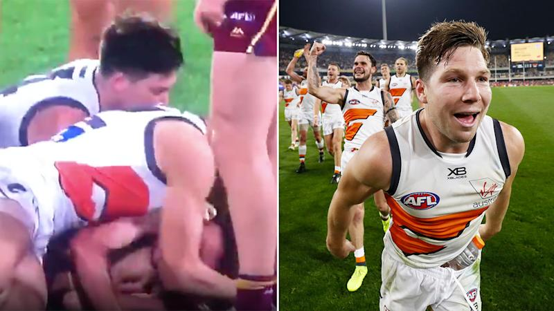 The incident involving Toby Greene is set to be scrutinised by the MRO.