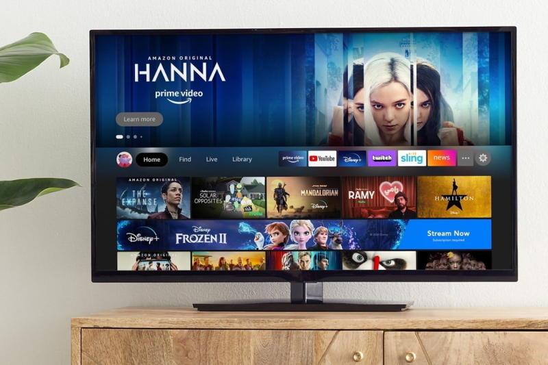 Amazon Fire TV 2020 Interface Home Screen