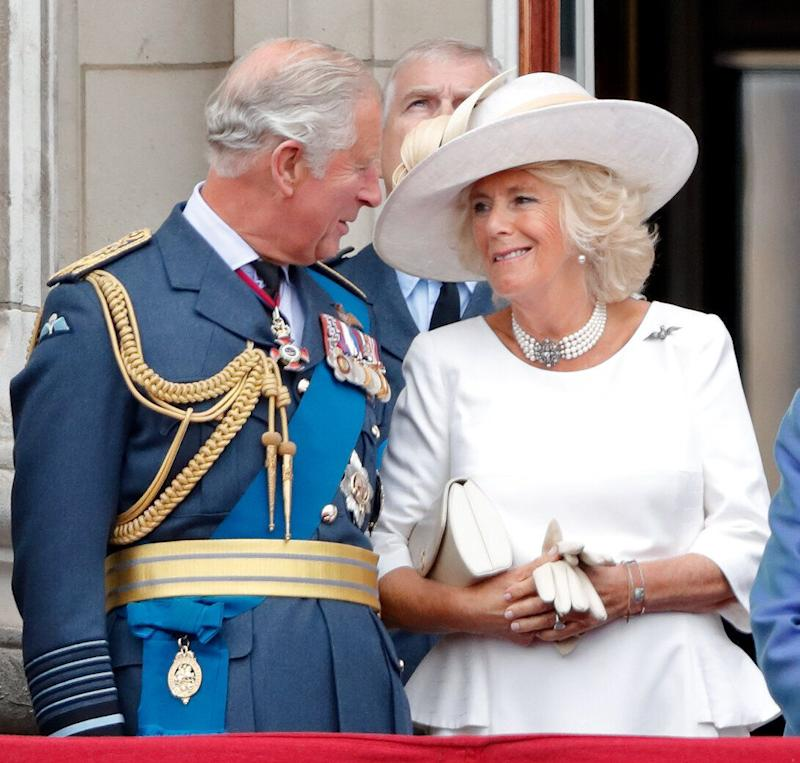 The couple have always put on a united front since their 2005 wedding, including when the watched a flypast to mark the centenary of the Royal Air Force in July 2018. Photo: Getty Images
