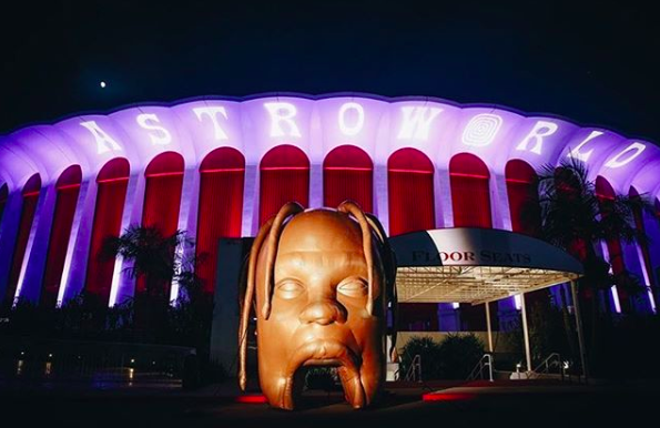 <p>She got the inspiration from theme and artwork of her baby daddy Travis Scott's Astro World tour.<br />Photo: Kyile Jenner/Instagram </p>