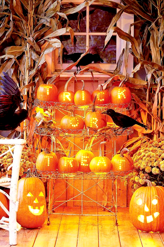 """<p>The only thing that's almost as fun as dressing in a <a href=""""https://www.goodhousekeeping.com/holidays/halloween-ideas/g2750/easy-last-minute-halloween-costumes-diy/"""" target=""""_blank"""">Halloween costume</a> is decorating the outside of your house for the holiday. Unlike those other holidays that tend to draw in the same old crowd (that is, your family and loved ones), Halloween is the rare tradition that brings new people to your door. That means it's time to shine for the whole neighborhood by busting out the over-the-top decorations that show your Halloween spirit and give your trick-or-treaters something to smile about (or cower in fear of) as they step up to your doorstep on the spookiest night of the year. </p><p>When it comes to Halloween, there are several ways to decorate in style. You have your standard cobwebs and <a href=""""https://www.goodhousekeeping.com/holidays/halloween-ideas/g238/pumpkin-carving-ideas/"""" target=""""_blank"""">jack-o-lanterns</a>, sure. But why stop there? Whether you want to go for the full haunted house experience, give your front yard a cemetery aesthetic with tombstones and ghosts, cover your stoop in <a href=""""https://www.goodhousekeeping.com/holidays/halloween-ideas/how-to/a35075/how-to-make-fake-blood/"""" target=""""_blank"""">fake blood</a>, emulate a <a href=""""https://www.goodhousekeeping.com/holidays/halloween-ideas/g29579568/classic-halloween-movies/"""" target=""""_blank"""">classic Halloween movie</a> theme, or just go wild with an array of frightening <a href=""""https://www.goodhousekeeping.com/holidays/halloween-ideas/g28325572/halloween-window-decorations/"""" target=""""_blank"""">window</a> and <a href=""""http://www.goodhousekeeping.com/holidays/halloween-ideas/g32948621/halloween-door-decorations/"""" target=""""_blank"""">door</a> decor, this list is certain to give you all the Halloween decoration ideas you need to have the spookiest, coolest house on the block.</p><p><a href=""""https://www.goodhousekeeping.com/holidays/halloween-ideas/g22062770/halloween-crafts"""