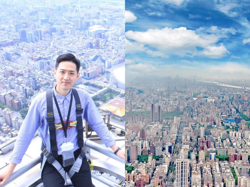 登頂101 遊走在最高樓邊緣的快感
