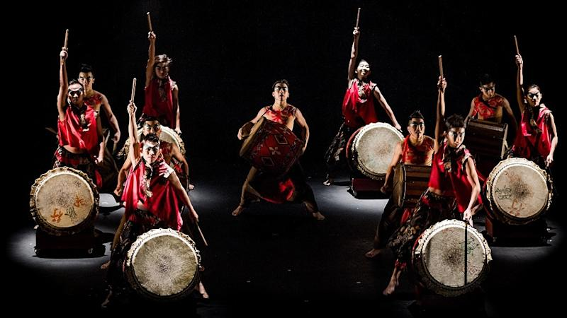 Reflections by Hands Percussion, the renowned Malaysian drum troupe will go live on July 18. ― Picture courtesy of DPAC