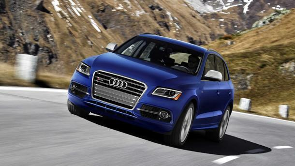 2014 Audi SQ5, stepping up: Motoramic Drives