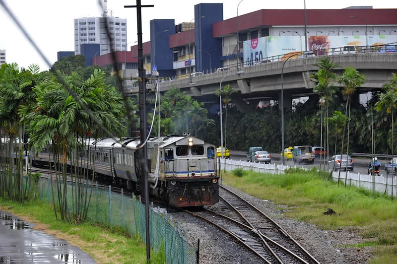 Railwaymen Union of Malaysia president Razak Md Hassan says KTMB will continue to incur losses if it does not diversify its operations which mainly focuses on passenger transport. —AFP pic