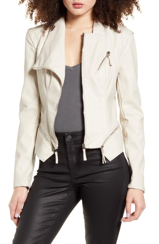 BlankNYC Faux Leather Jacket. Image via Nordstrom.