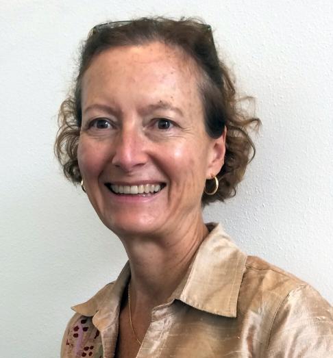 Carole Petersen, from the University of Hawaii. Photo: Jeffie Lam