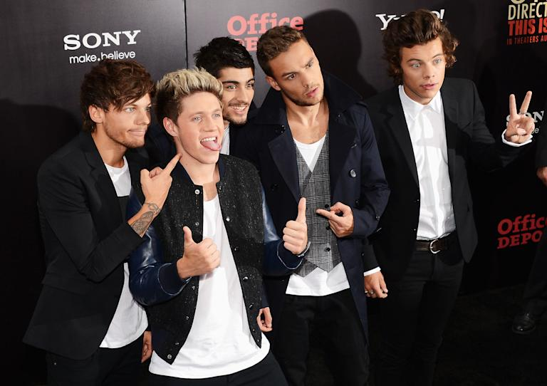 """""""One Direction: This Is Us"""" World Premiere - Red Carpet"""