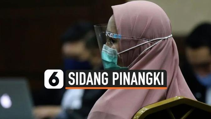VIDEO: Perubahan Penampilan Jaksa Pinangki di Sidang Perdana