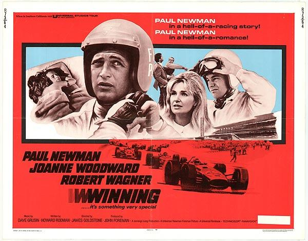 "May 22: ""Winning,"" starring Paul Newman, was released on this date in 1969"