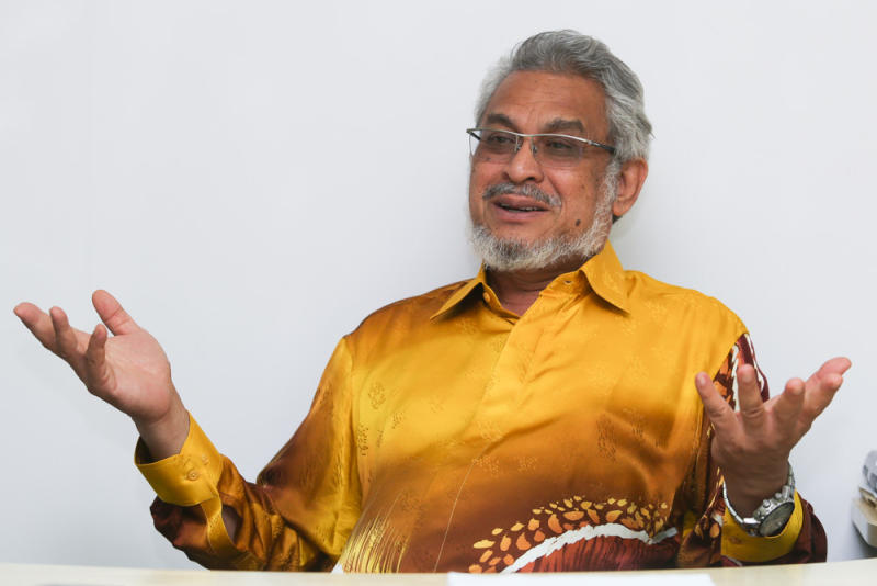 Shah Alam MP Khalid Abdul Samad speaks to Malay Mail during an interview August 7, 2020. — Picture by Choo Choy May