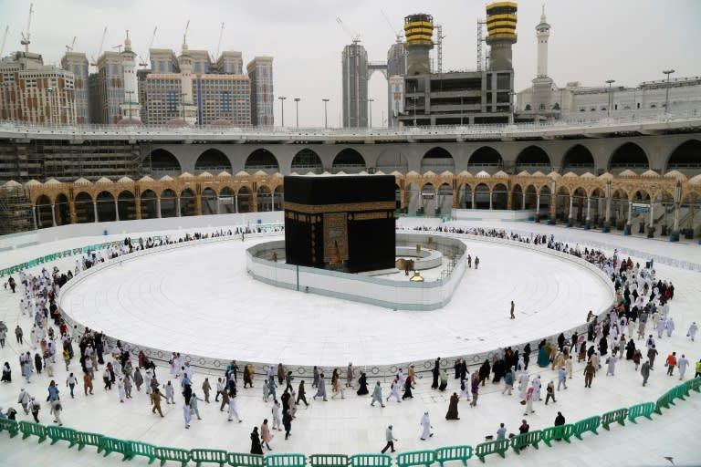 Saudi Arabia has suspended prayers inside mosques