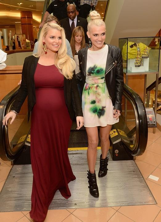 Jessica Simpson Gushes About Having a Baby Boy at Tom Sawyer-Themed Shower