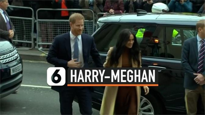 VIDEO: Ratu Elizabeth Restui Harry-Meghan Mundur dari Kerajaan