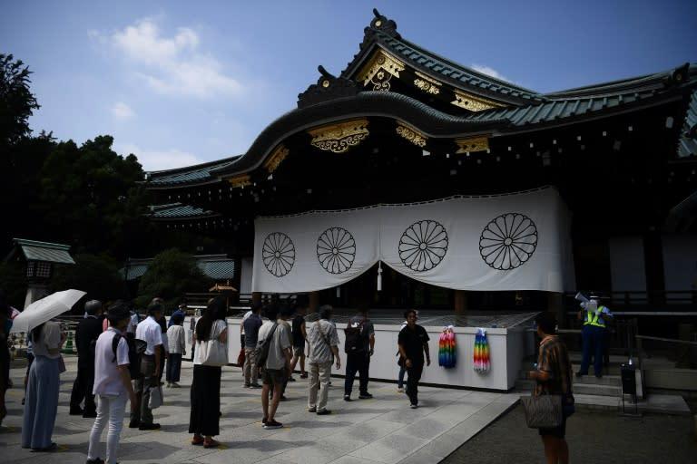 Japanese ministers visit Yasukuni Shrine, first since 2016