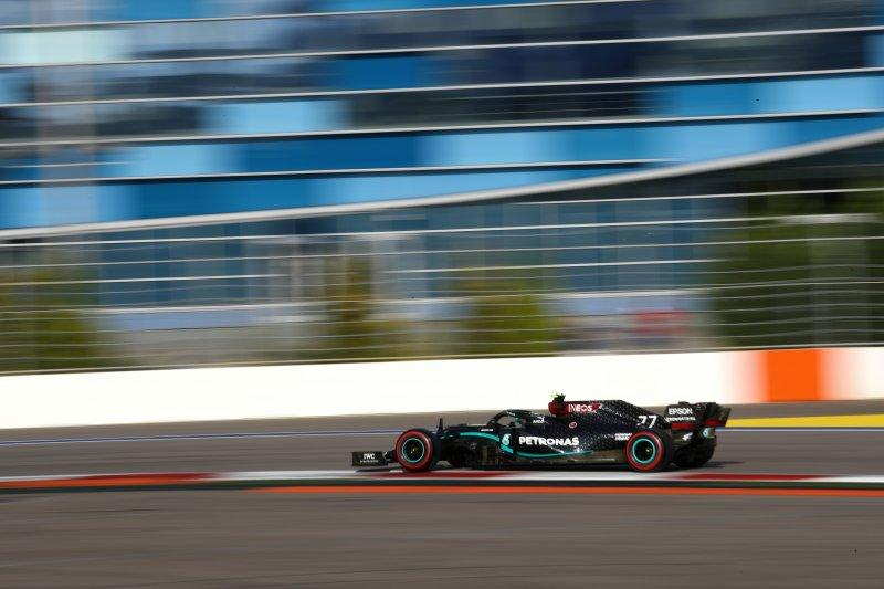 Bottas kembali tercepat di sesi latihan kedua GP Rusia