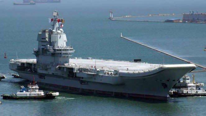 VIVA Militer: Kapal induk Angkatan Laut China (PLAN), Type 002 Shandong
