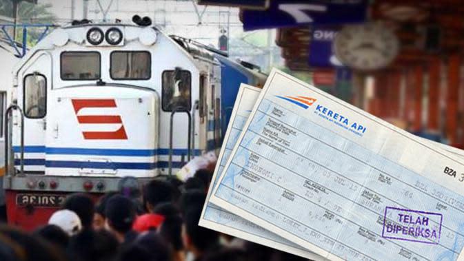 Dampak Banjir Jakarta, 187 Penumpang KA Batalkan Tiket Perjalanan