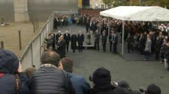 Saat peringatan runtuhnya Tembok Berlin, Angela Merkel desak Eropa pertahankan kebebasan