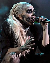 Lady Gaga Pours Some Sugar On It at Collaboration-Crammed Grammy Nominations Show