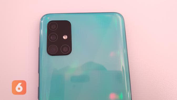 Kamera utama Galaxy A51 (Liputan6.com/ Agustin Setyo W).
