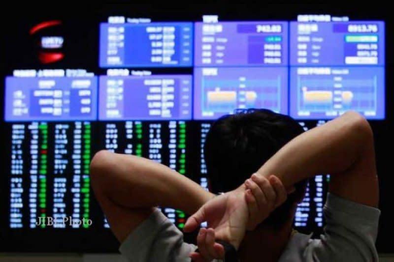 Saham Tokyo ditutup jatuh, Indeks Nikkei anjlok 166,41 persen
