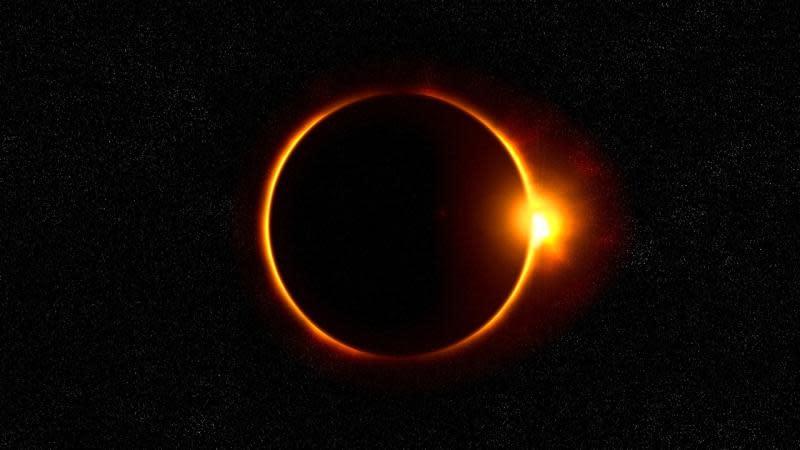 ▲天文界盛事「日環食」將6月21日登場,更能在台灣觀測到。(示意圖/翻攝pxhere)