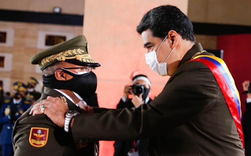 Nicolas Maduro - JHONANDER GAMARRA/Venezuelan Presidency/AFP