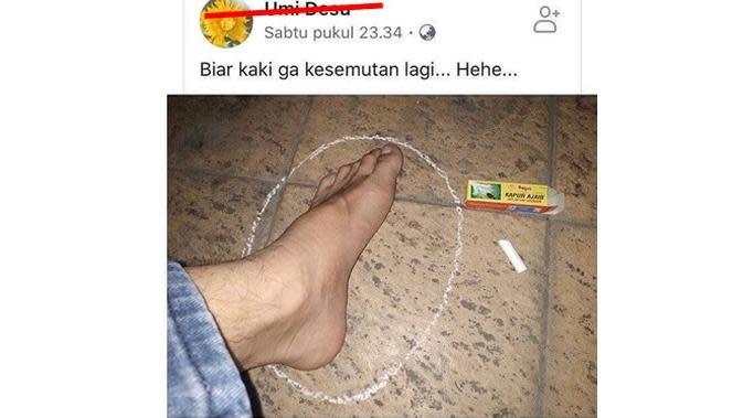 Status Facebook 5 Orang Kurang Paham Ini Bikin Geleng Kepala (sumber: Instagram.com/ngumpulreceh)
