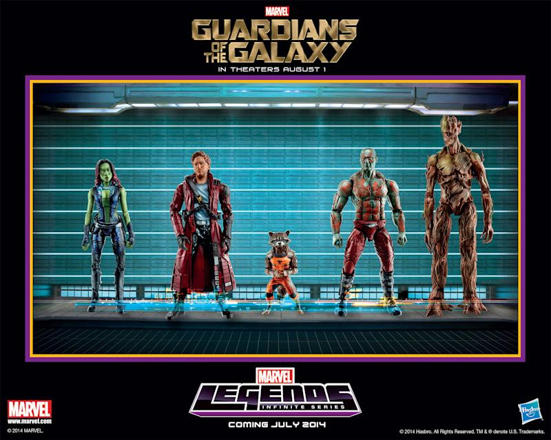 First Official Look at Hasbro's 'Guardians of the Galaxy' Action Figures and a Giveaway to Groot