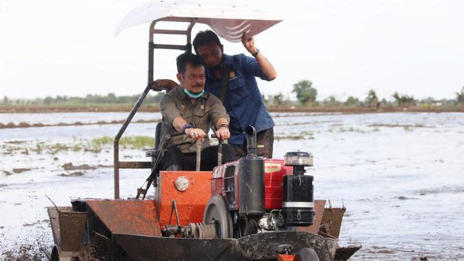 DPR Pertanyakan Mentan Soal Target Tanam Padi di 30 Ribu Hektar Sawah di Kalteng