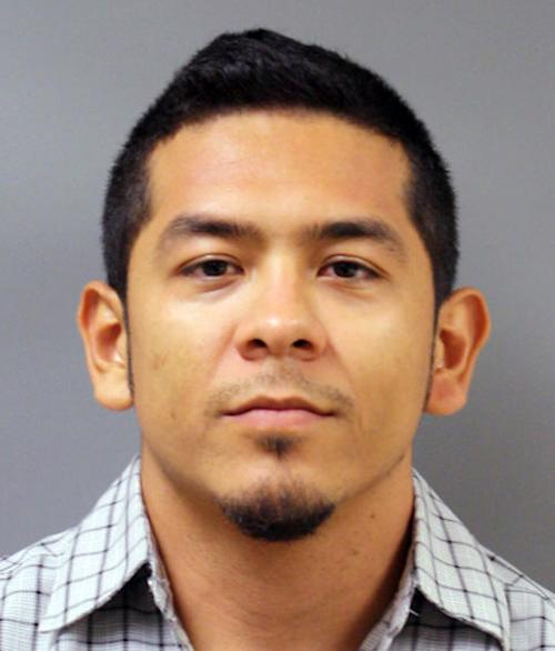 "FILE - This file photo provided by the Harris County, Texas, Sheriff's Department shows Uriel Landeros. Landeros, accused of vandalizing a 1929 Pablo Picasso painting in an act that was caught on cellphone video, has pleaded guilty in exchange for a two-year prison sentence. Landeros had faced felony graffiti and criminal mischief charges accusing him of spray-painting ""Woman in a Red Armchair"" at the Menil Collection in Houston. (AP Photo/Harris County Sheriff, File)"