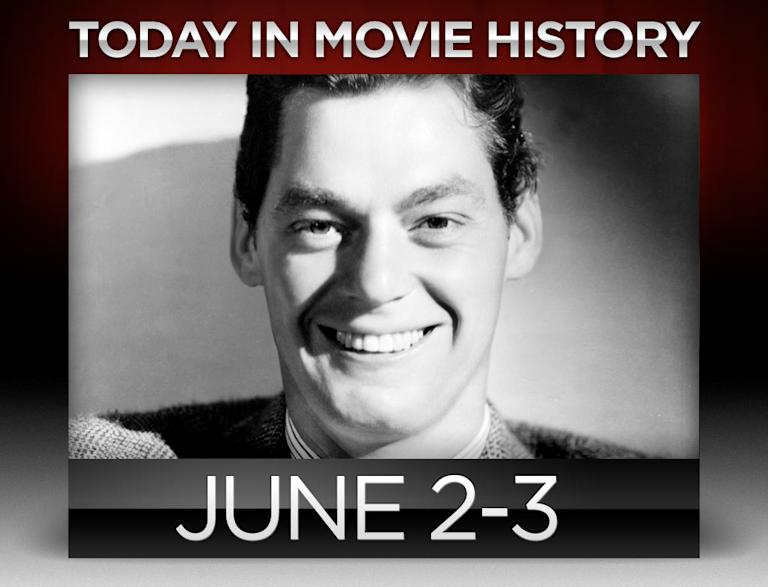 Today in movie history, June 2, June 3