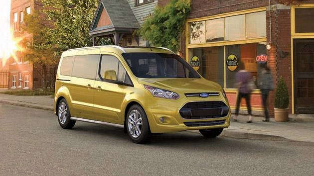 Ford Transit Connect Wagon hauls back into the seven-seat people mover market
