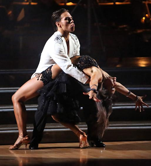 Apolo Anton Ohno and Karina Smirnoff (11/5/12)