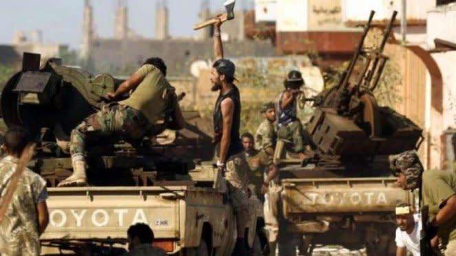 VIVA Militer: Tentara Nasional Libya (LNA)