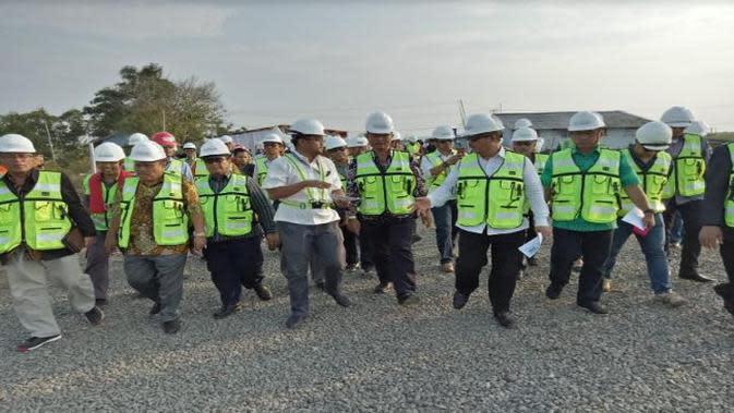 Pembangunan pelabuhan Patimban (Foto: Dok Kementerian Perhubungan)