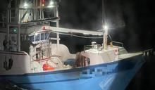 蘇澳2漁船三貂角外海碰撞 8人摸黑逃生 (圖)