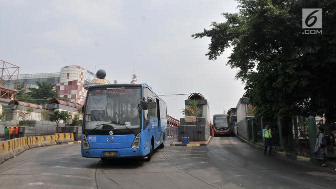 Demo di DPR, Transjakarta Alihkan Rute Pinang Ranti-Pluit
