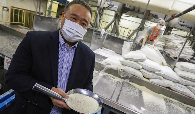 Rice importer Anthony Lam says the government's rice reserve and industry's own stockpile were enough to meet city's demand for more than a month. Photo: May Tse