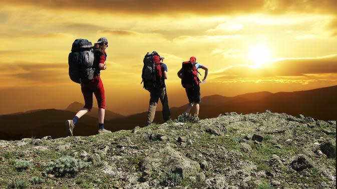 Ilustrasi Hiking. Foto: argyruntum