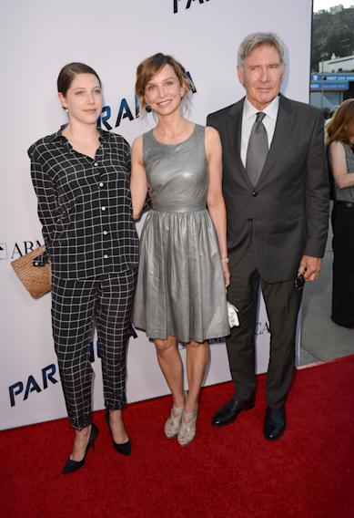 Georgia Ford, Harrison Ford,Calista Flockhart