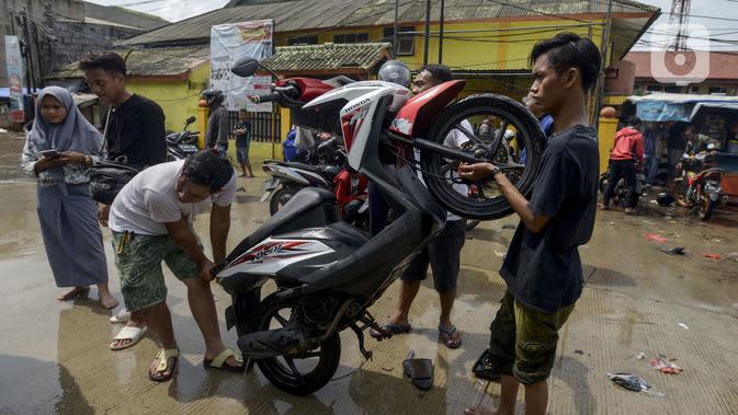 Penyebab Motor Mogok Saat Menerjang Banjir