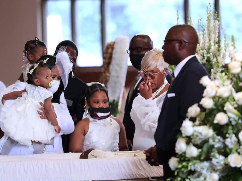 Funeral of Rayshard Brooks at Ebenezer Baptist Church in Atlanta