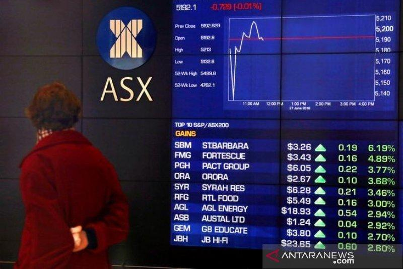 Pasar saham Aussie berakhir melonjak dengan keuntungan meluas