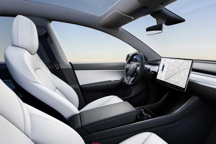 Tesla Model Y official