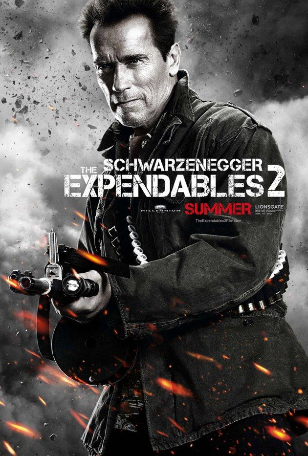 Schwarzenegger and Stallone negotiated 'Expendables' at the hairdresser