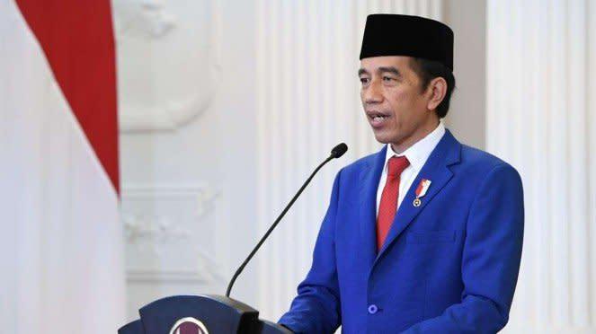 Presiden Jokowi sampaikan pidato di sidang PBB