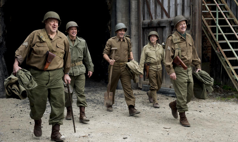 George Clooney's 'Monuments Men' Moves To Feb. 7