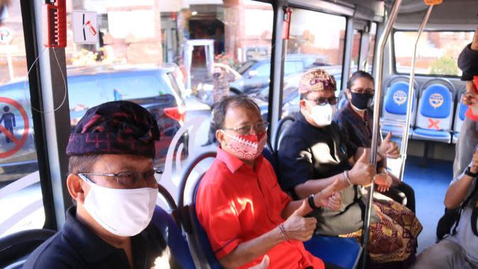 Kurangi Volume Kendaraan, Koster launching Transportasi Umum Ramah Kantong